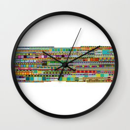 The Transit of Spring Wall Clock