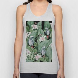 Tropical flight Unisex Tank Top