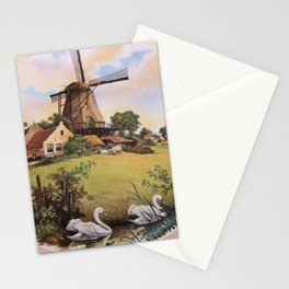 the hanging gardens Stationery Cards