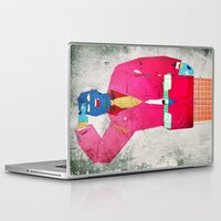 suit Laptop & iPad Skins featuring Suit Salute by Alec Goss