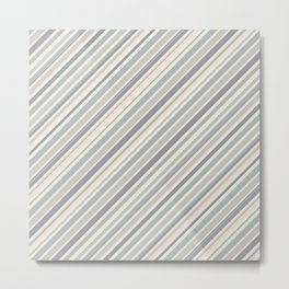 Just Stripes 5 Metal Print