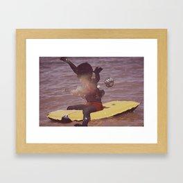 """Children of the sky #2 """"Felipe"""" Framed Art Print"""