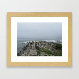 Gray Sky Framed Art Print