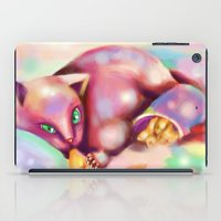 rave iPad Cases featuring Rave Kitty by RaraHimeChan