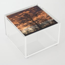 Sky on Fire in Tennessee Acrylic Box