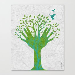 Giving Tree Canvas Print