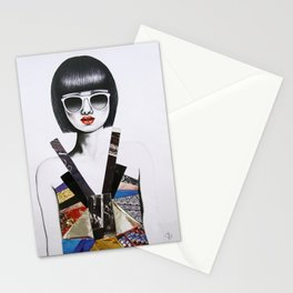 Moda Collage #7 Stationery Cards