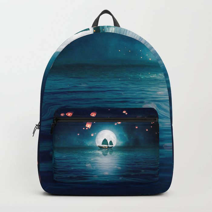 Travel through the Lights Backpack