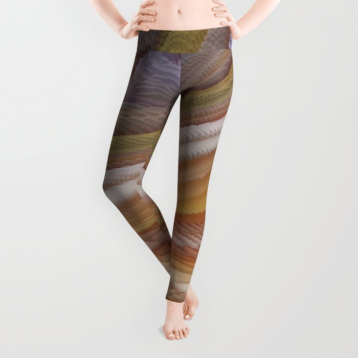 Abstract painting 123 Leggings
