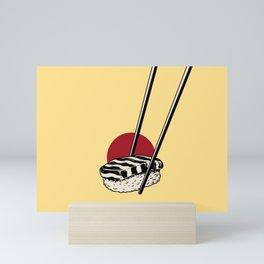 Sushi-San Mini Art Print