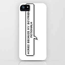book boyfriends? iPhone Case