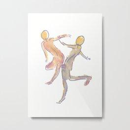 Gesture 05 Metal Print