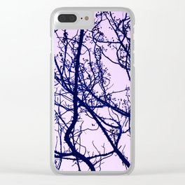 A tree branch Clear iPhone Case