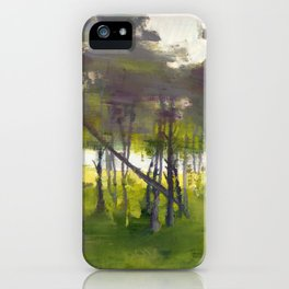 Trees in Motion iPhone Case