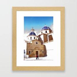 Altea, Costa Blanca Spain Framed Art Print