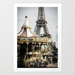 Only One Paris Art Print