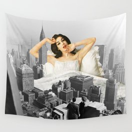 Urban Nymph Wall Tapestry