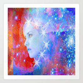 Star Breakout Art Print