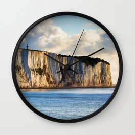 Cretaceous rocks of Dover Wall Clock