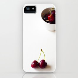 Cherries are not the only fruit iPhone Case