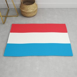 Luxembourg Flag Luxembourgish Patriotic Rug
