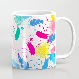 Colorfull Pop Art Pattern Coffee Mug