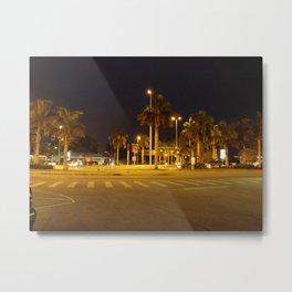 Empty Streets Metal Print