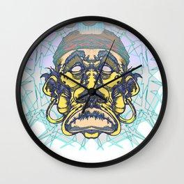 Rain man faded Wall Clock