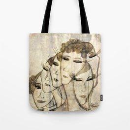 Silence shower Tote Bag