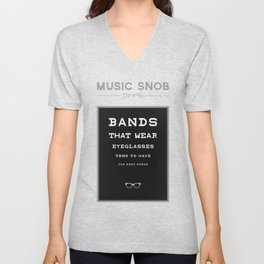 LEGALLY Fourth Eye Blind — Music Snob Tip #20/20-ish Unisex V-Neck