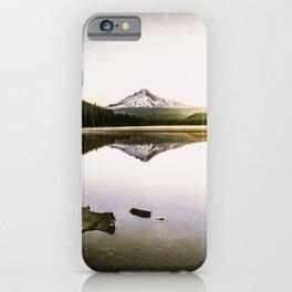 Fantastic Morning - Mount Hood Reflection iPhone Case