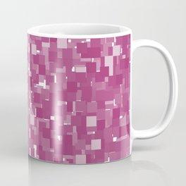 Festival Fuchsia Pixels Coffee Mug