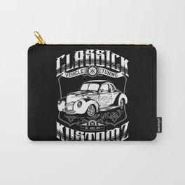 Hot Rod - Classick Kustomz (white) Carry-All Pouch