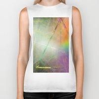 prism Biker Tanks featuring Prism by Randomleafy