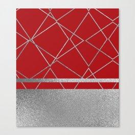 Silverado: Red Canvas Print