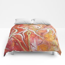 Spider Orchid Comforters
