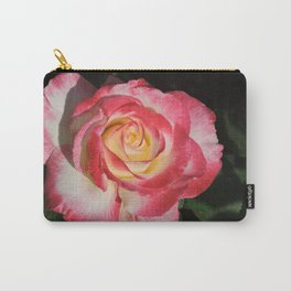 Multi-Hued Rose Carry-All Pouch