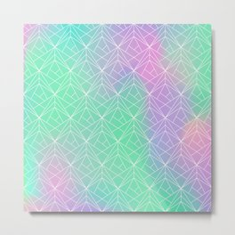 Pattern hologram Metal Print
