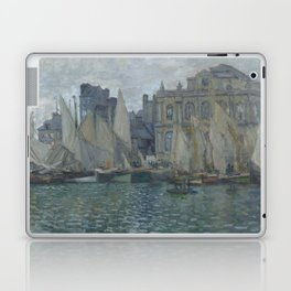 The Museum at Le Havre by Claude Monet Laptop & iPad Skin