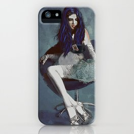 Ask Alice iPhone Case