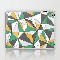 Geo - orange, green, gray and white. Laptop & iPad Skin