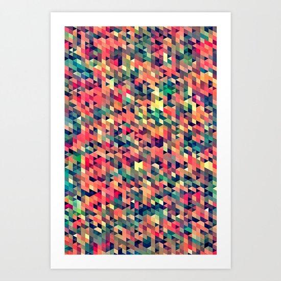 tyny myte Art Print