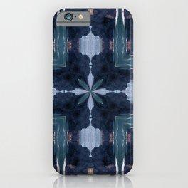 Cross pattern iPhone Case