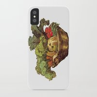 vegetables iPhone & iPod Cases featuring Just Vegetables by JessicaWarrick