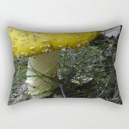 Yellow fungus Rectangular Pillow
