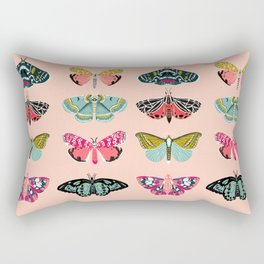 Lepidoptery No. 1 by Andrea Lauren  Rectangular Pillow
