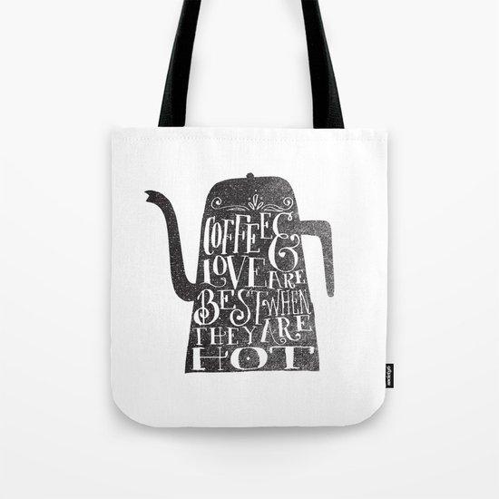 COFFEE & LOVE Tote Bag