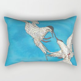Arctic Terns Rectangular Pillow