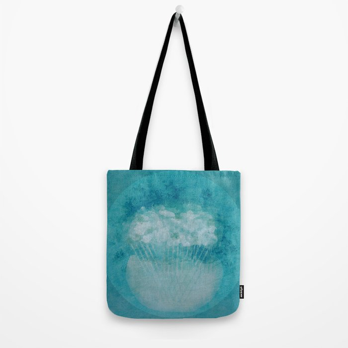 Flowers in Thought Tote Bag