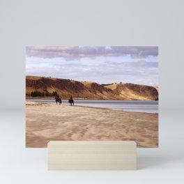 Riders on the Shore Mini Art Print